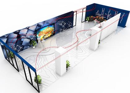 科技企业科技文化展厅