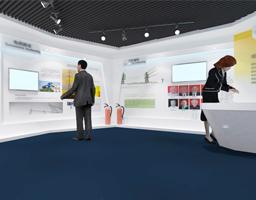 电网企业展览馆设计布置